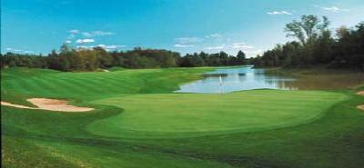 One of Saugatuck's five fabulous golf courses