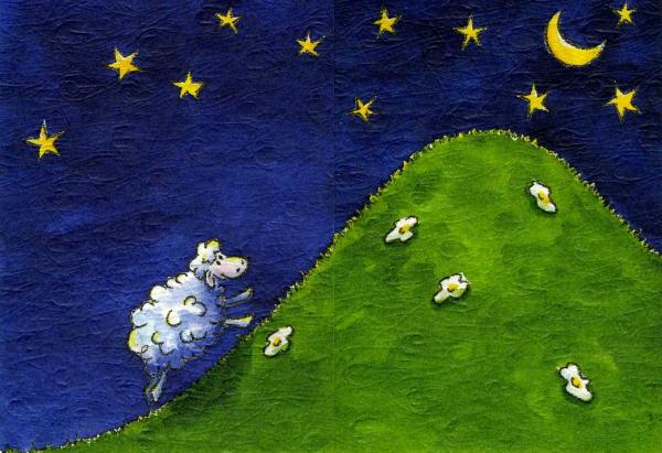 Lamb Climbing to the Stars